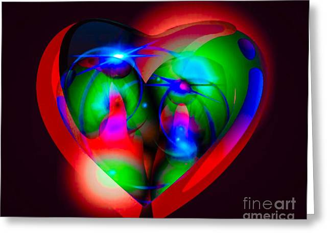 Look Inside My Heart Greeting Card