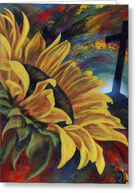 Look To The Son Greeting Card by Don Michael Jr