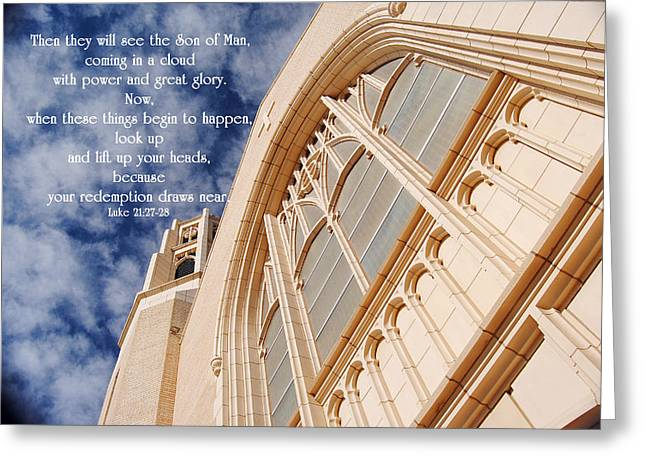 Look Up Greeting Card by Don Durante Jr
