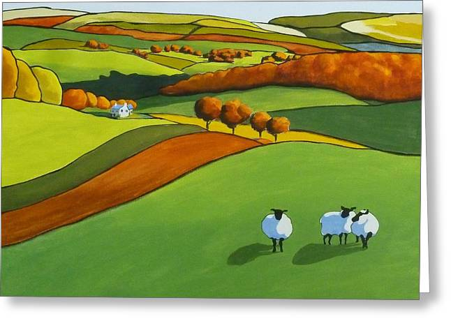 Looking At Ewe Greeting Card
