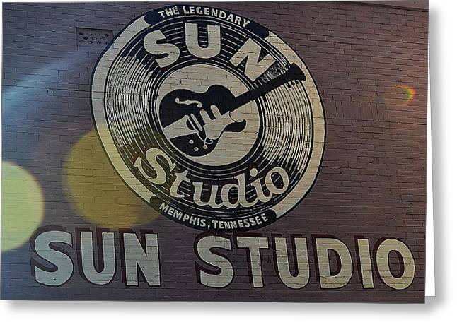 Looking At The Sun Greeting Card by Joe Bledsoe