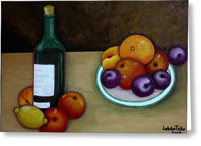 Looking For Cezanne Greeting Card by Madalena Lobao-Tello