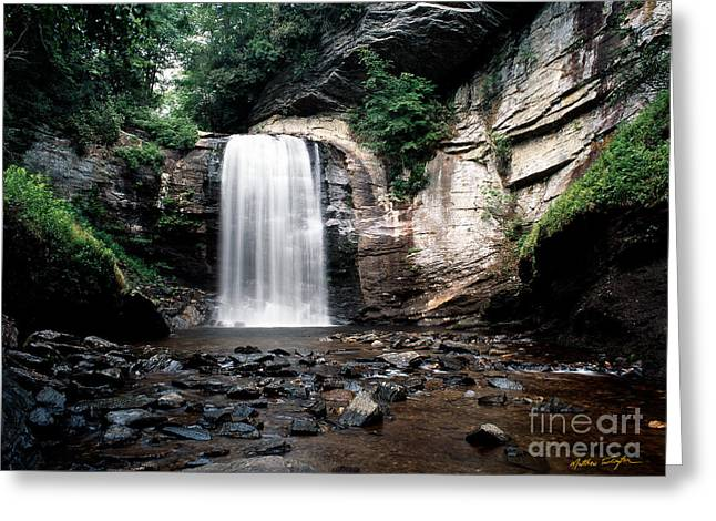 Looking Glass Falls 2007 Greeting Card