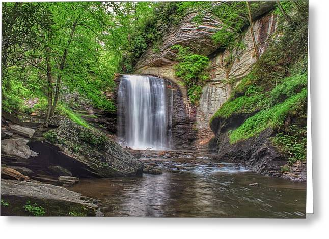 Looking Glass Falls Greeting Card
