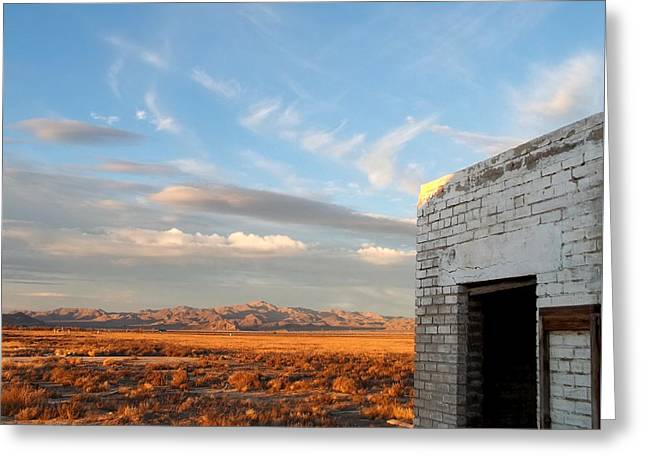 Looking Northward Greeting Card by Glenn McCarthy Art and Photography