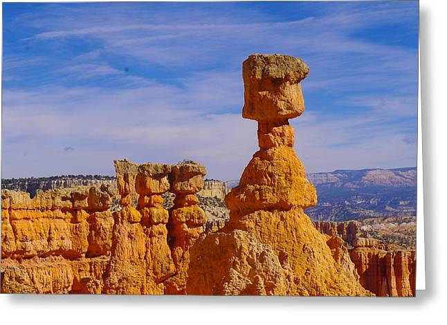 Looking Over Sunset Point  Greeting Card by Jeff Swan