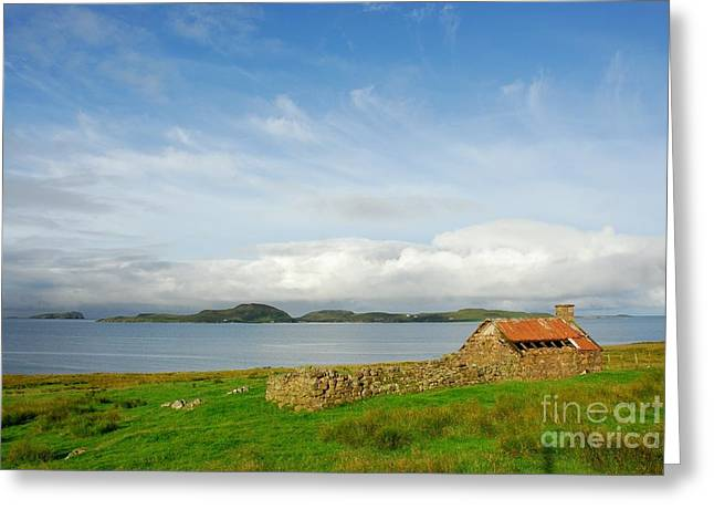 Looking To The Summer Isles Greeting Card by John Kelly