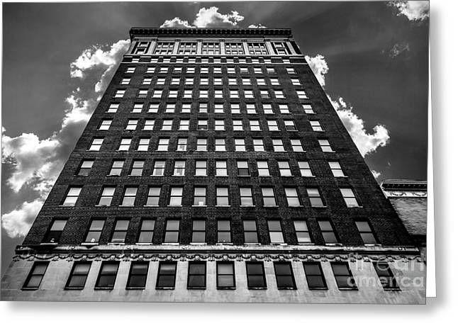 Looking Up Greeting Card by Lee Wellman