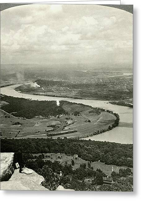 Lookout Mountain, C1920 Greeting Card by Granger