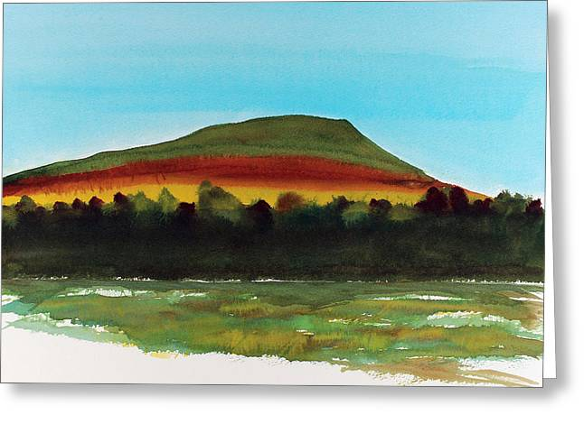 Greeting Card featuring the painting Lookout Mountain Tn by Frank Bright