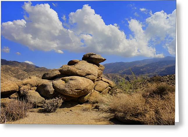 Lookout Rock Greeting Card by Michael Pickett