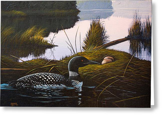 Loon Lake Greeting Card