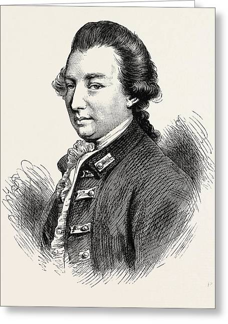 Lord Cornwallis Was A British Army Officer And Colonial Greeting Card