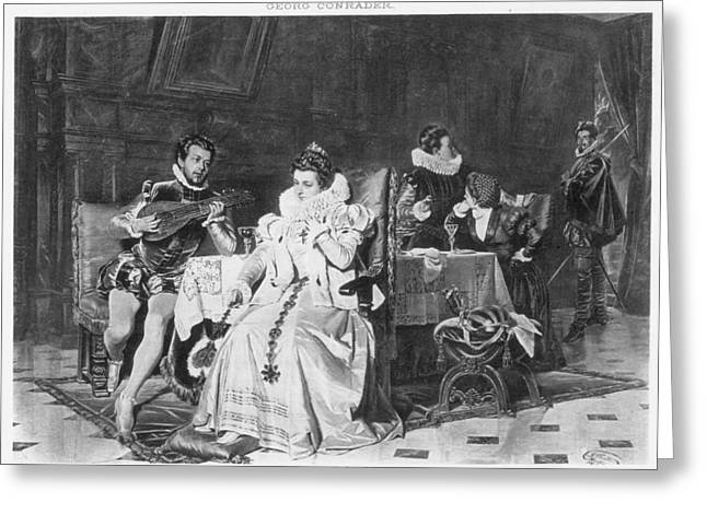 Lord Darnley/mary Stuart Greeting Card by Granger