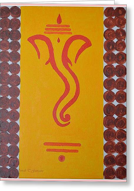 Lord In My Dreams Greeting Card by Sonali Gangane