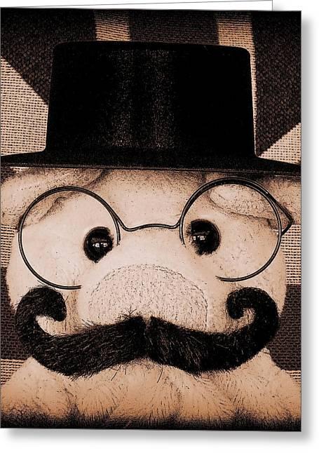 Lord Piggy Hoggington- Smythe Greeting Card by Piggy