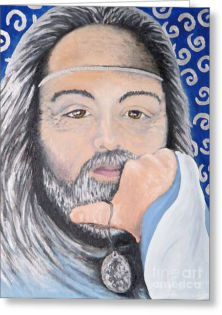 Lord Richard Greeting Card
