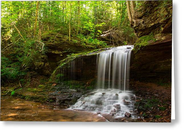 Lost Creek Falls Greeting Card