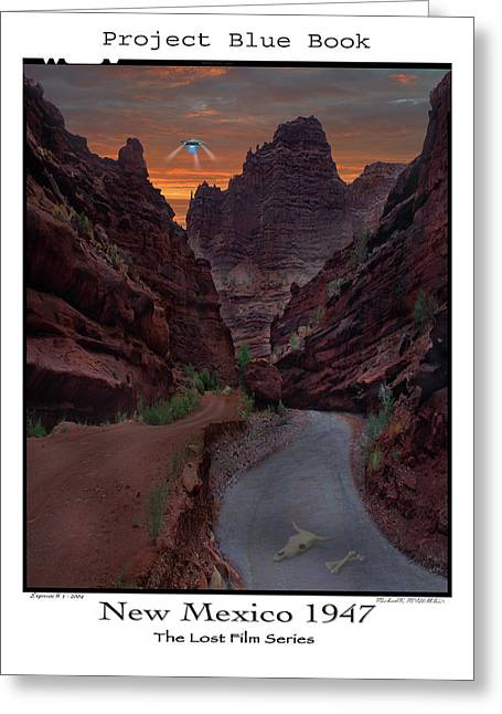 Lost Film Number 1 Greeting Card by Mike McGlothlen