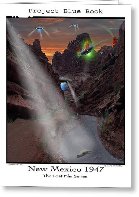Lost Film Number 2  Greeting Card by Mike McGlothlen