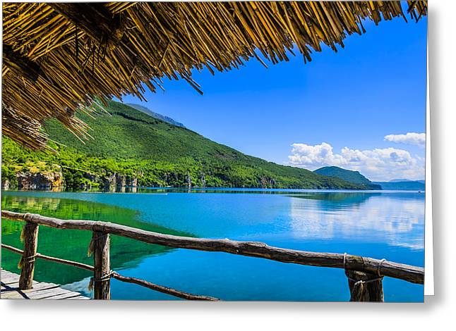 Lost In Paradise Greeting Card by Sotiris Filippou