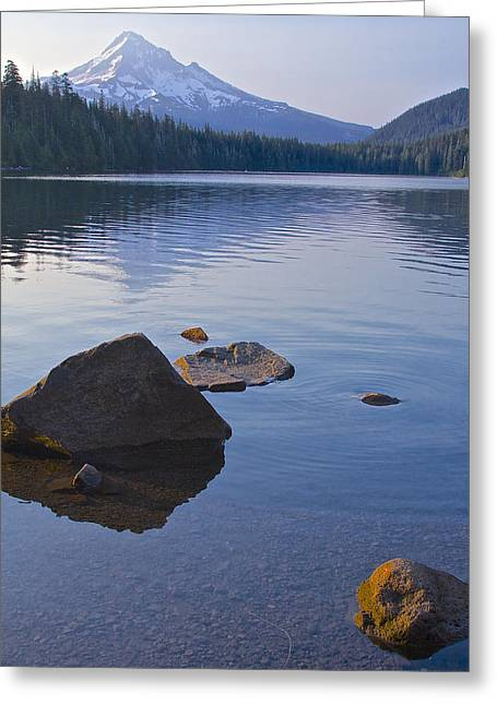 Lost Lake Morning 81014 Greeting Card by Todd Kreuter