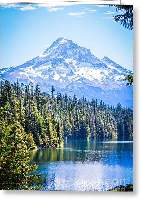 Lost Lake Morning Greeting Card