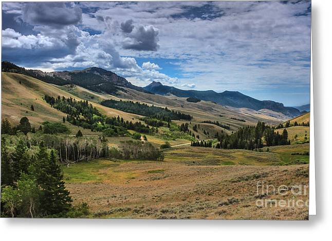 Lost River Valley Greeting Card by Robert Bales