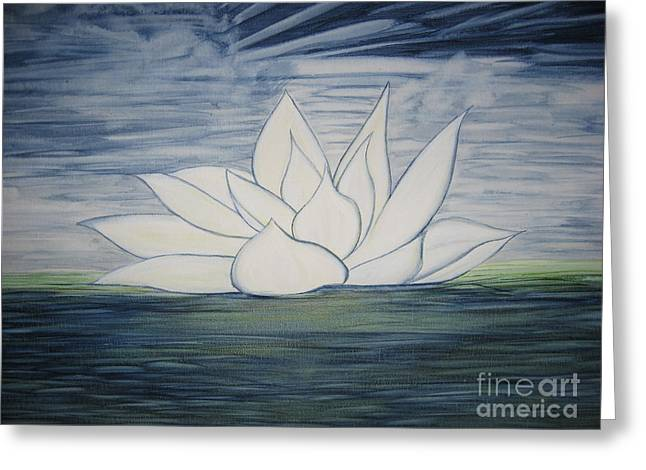 Lily  Greeting Card by Heather  Hiland