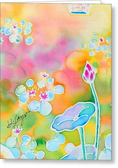 Lotus Pond Greeting Card