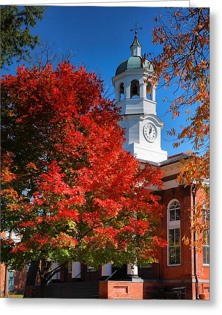 Loudon County Courthouse II Greeting Card by Steven Ainsworth