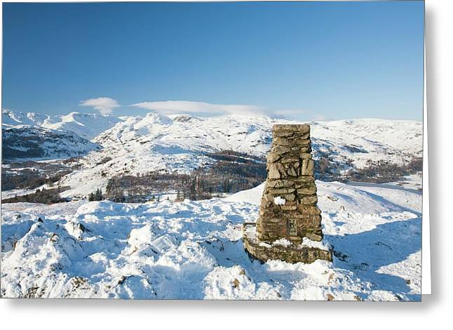 Loughrigg In The Lake District Greeting Card by Ashley Cooper