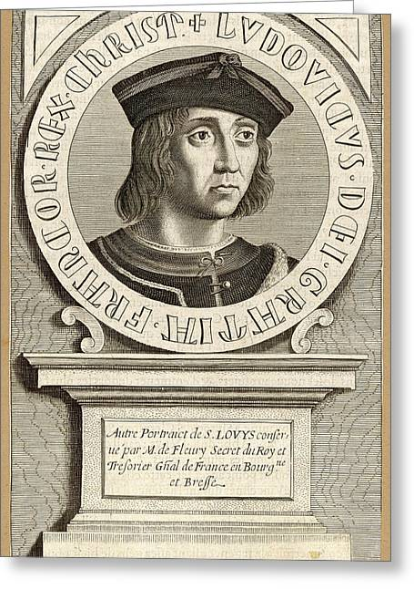 Louis Ix,  King Of France, Crusader Greeting Card by Mary Evans Picture Library