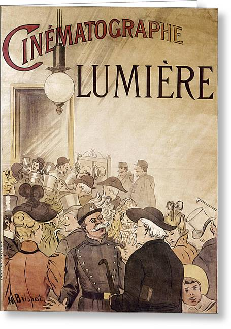 Louis Lumiere (1864-1948) Greeting Card by Granger