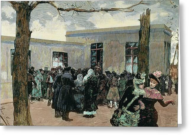 Louis Pasteur (dole, 1822-villeneuve-l Greeting Card