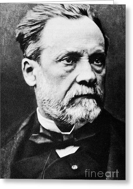 Louis Pasteur, French Microbiologist Greeting Card by Spl