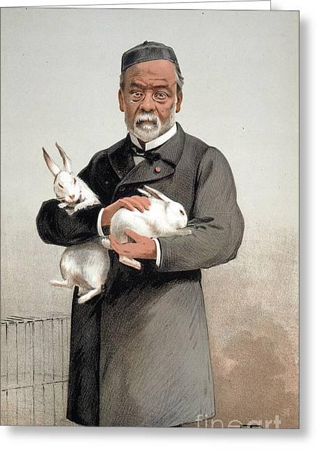 Louis Pasteur Greeting Card by Granger