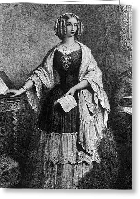 Louise Of Orleans (1812-1850) Greeting Card by Granger
