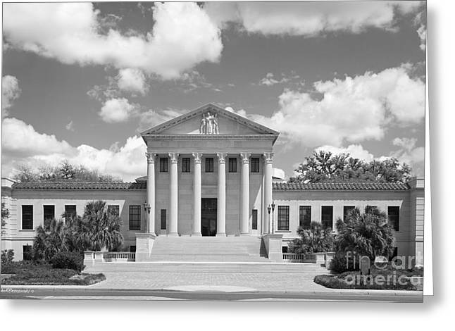 Louisiana State University Hebert Law Center Greeting Card by University Icons