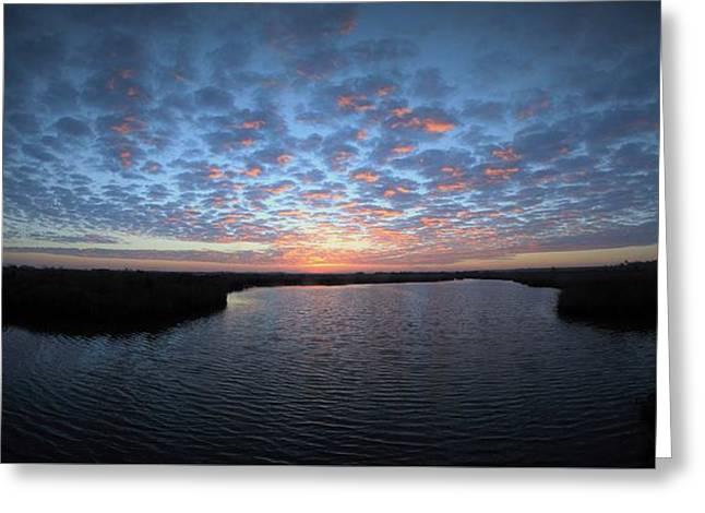 Louisiana Sunrise Greeting Card
