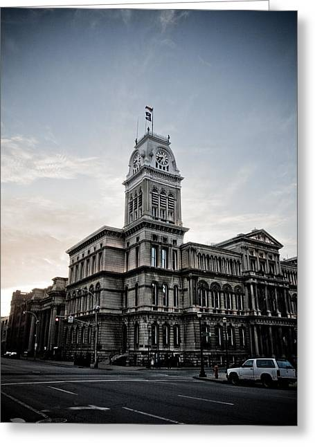Louisville City Hall Greeting Card