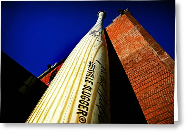 Louisville Slugger Bat Factory Museum Greeting Card