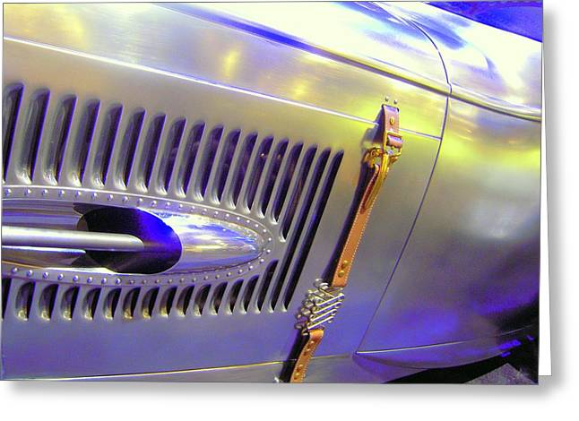Greeting Card featuring the photograph Louvered And Buckled In Las Vegas by Don Struke