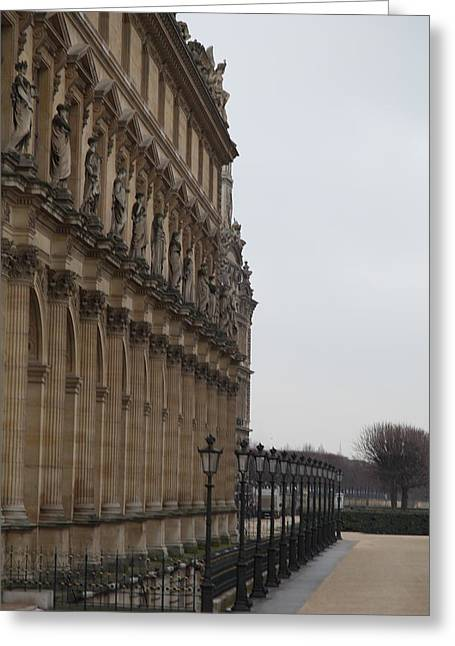 Louvre - Paris France - 011330 Greeting Card by DC Photographer