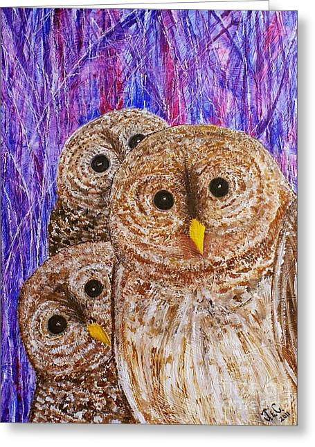 Lovable Greeting Card by Jane Chesnut