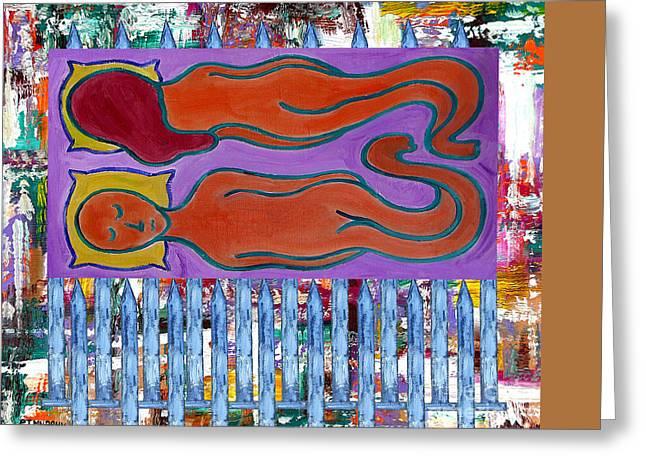 Divorce Mixed Media Greeting Cards - Love And Marriage Greeting Card by Patrick J Murphy