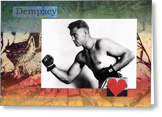 Love And War Dempsey Greeting Card