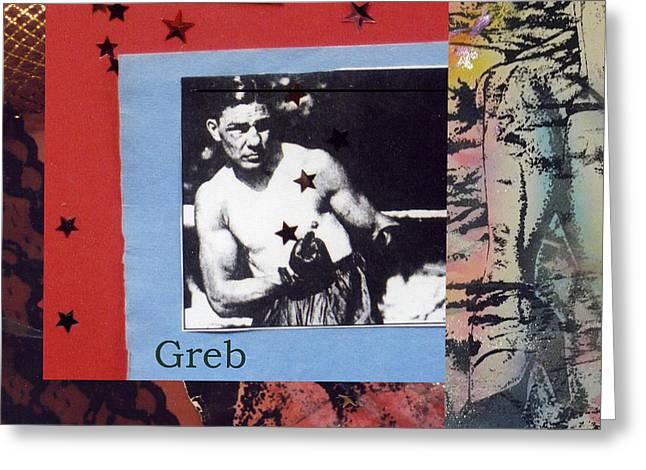 Love And War Greb Greeting Card