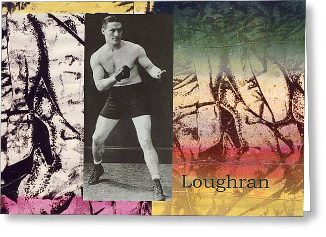 Love And War Loughran Greeting Card