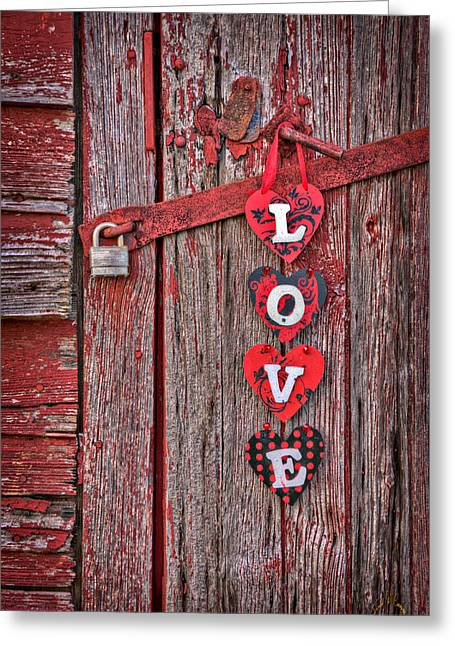 Love Close Up At Windsor Castle Greeting Card